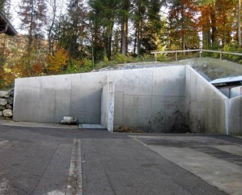 Straßenmeisterei Vorderwald: Erweiterung Stützpunkt Krumbach - Land Vorarlberg 03